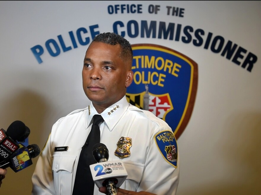 """Former Baltimore Police Commissioner Darryl De Sousa resigned on Tuesday. In charges last filed last week, federal prosecutors said he """"willfully"""" failed to file tax returns for 2013, 2014 and 2015."""