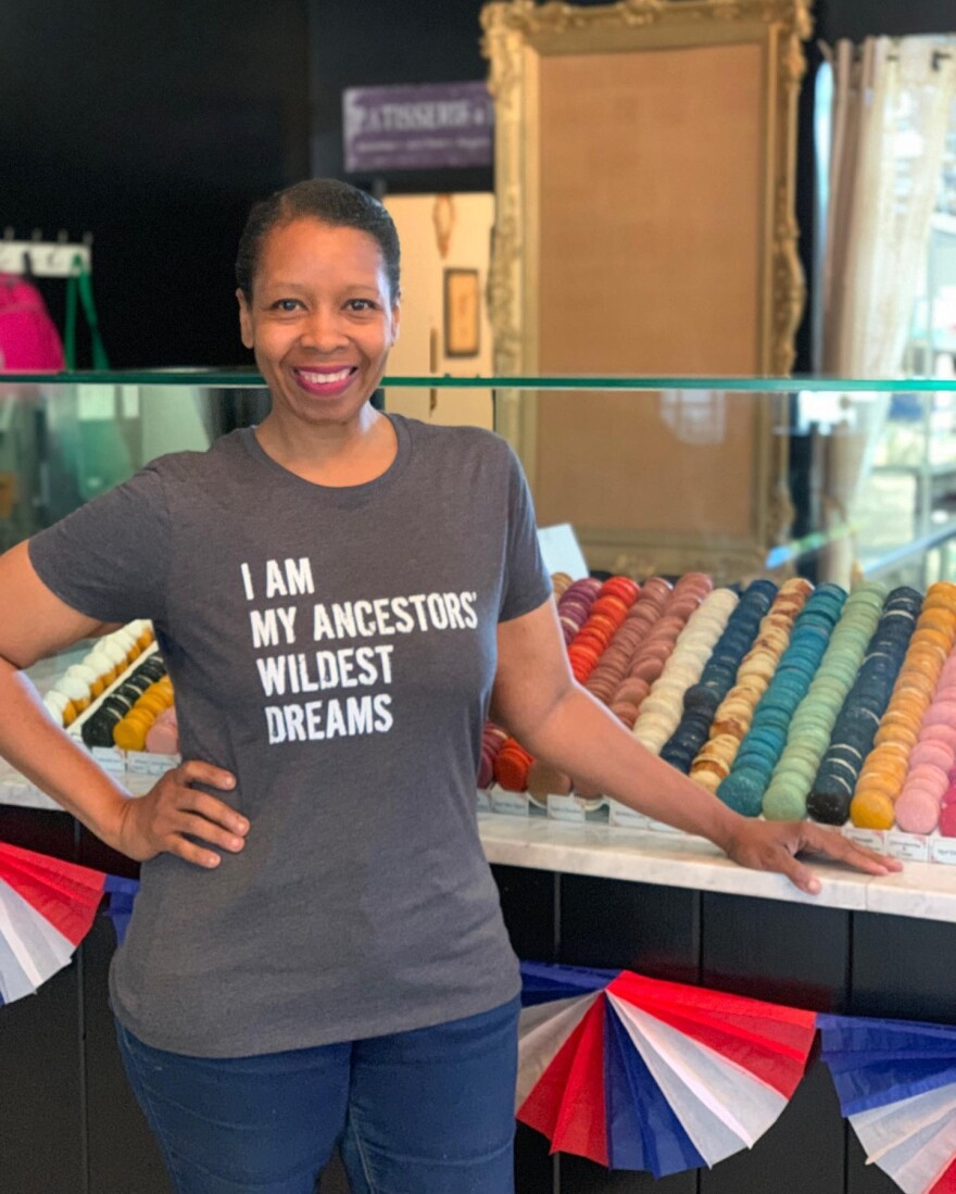 Simone Faure of La Patisserie Chouquette said she hopes her Juneteenth boxes will be shared among family and friends and provide a history lesson as well.