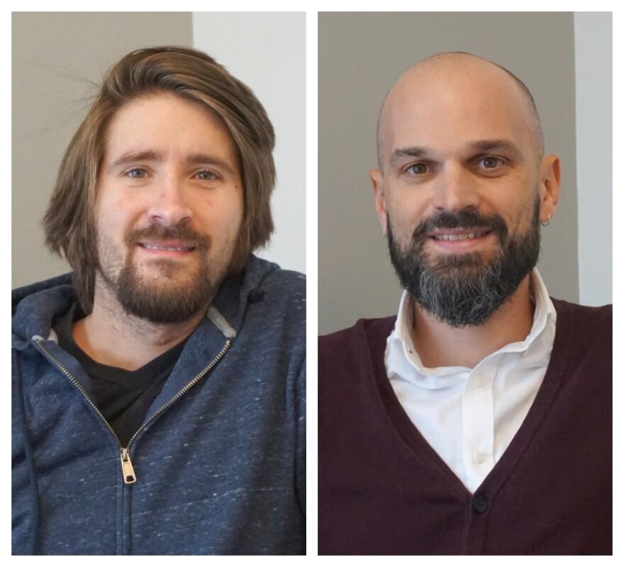 From left, Kurt Hagen and Scott Ogilvie joined Tuesday's show.