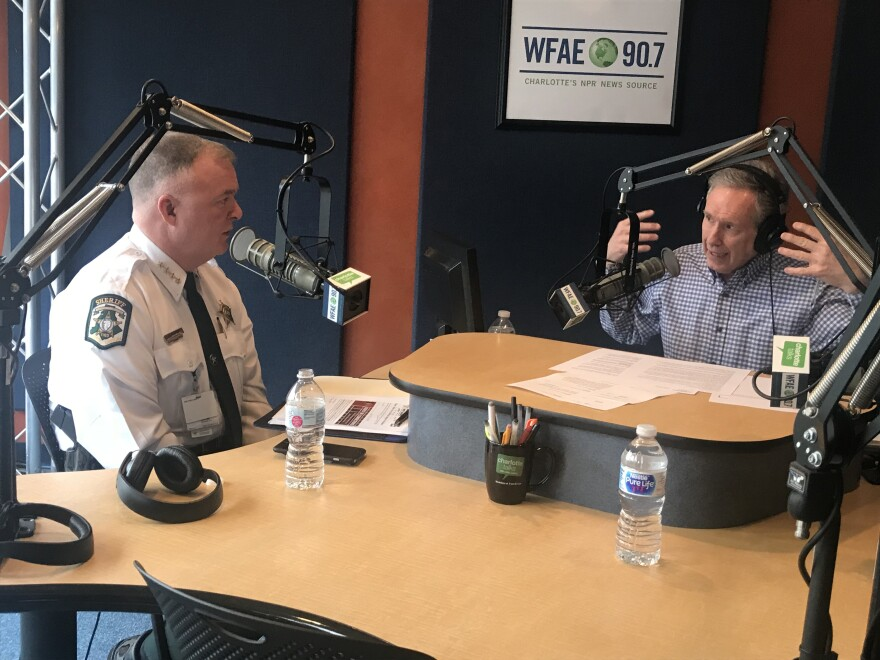 Mecklenburg County Sheriff Irwin Carmichael on Charlotte Talks with host Mike Collins.
