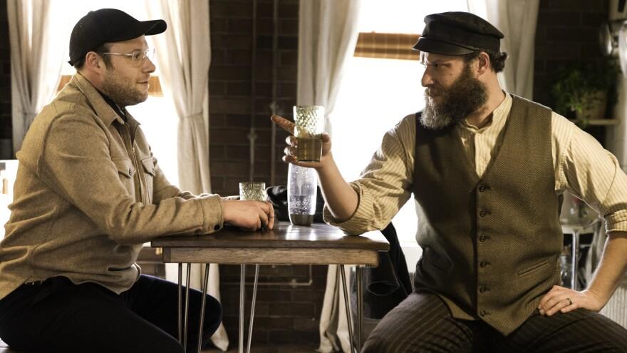 Seth Rogen stars alongside ... well, Seth Rogen, in the HBO Max movie <em>An American Pickle</em>.