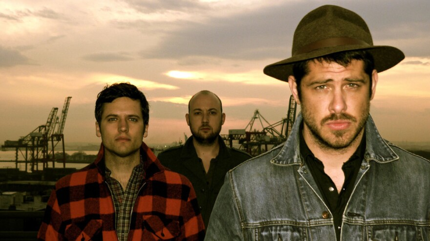 We Are Augustines' debut album is <em>Rise Ye Sunken Ships</em>. Left to right: Eric Sanderson, Rob Allen, Billy McCarthy.