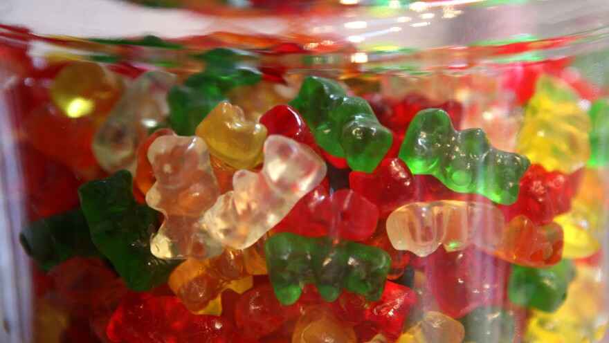 Color really does impact our perception of taste — even if the ingredients are otherwise the same, scientists say. It's something candy companies use to their advantage.