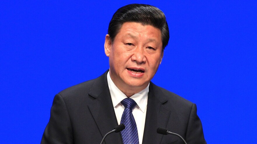 China's President Xi Jinping, shown speaking in Bruges, Belgium, back in April, has made fighting corruption one of his top priorities. Many Chinese bureaucrats are angry, saying a loss of bribes has greatly reduced their incomes.