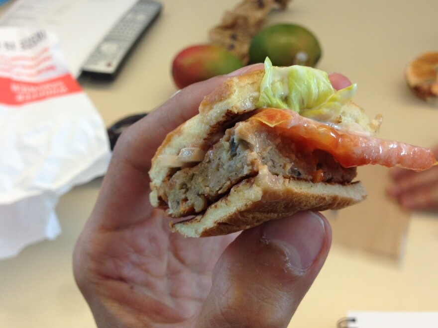 Burger King's veggie burger is among the many meat substitute options on the market.