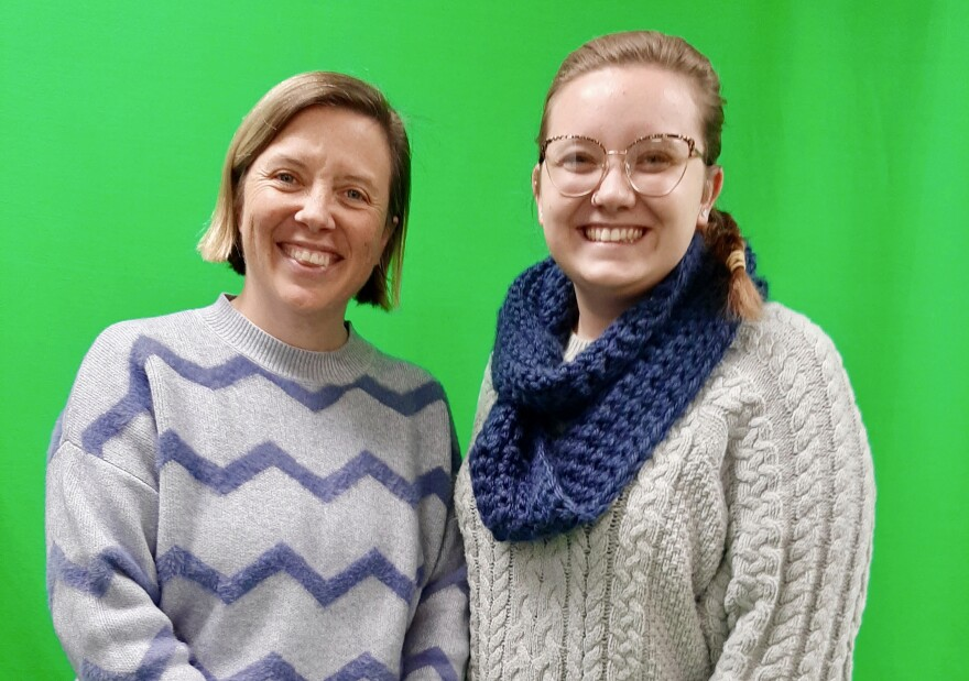 Corey Cockerill teaches Agricultural Communications. She was interviewed by student Aryn Copeland about the journey from the suburbs to rural life.