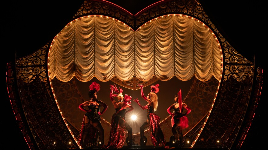 The new musical adaptation of <em>Moulin Rouge! </em>features 71 popular songs, which all had to be licensed and stitched together into the story.