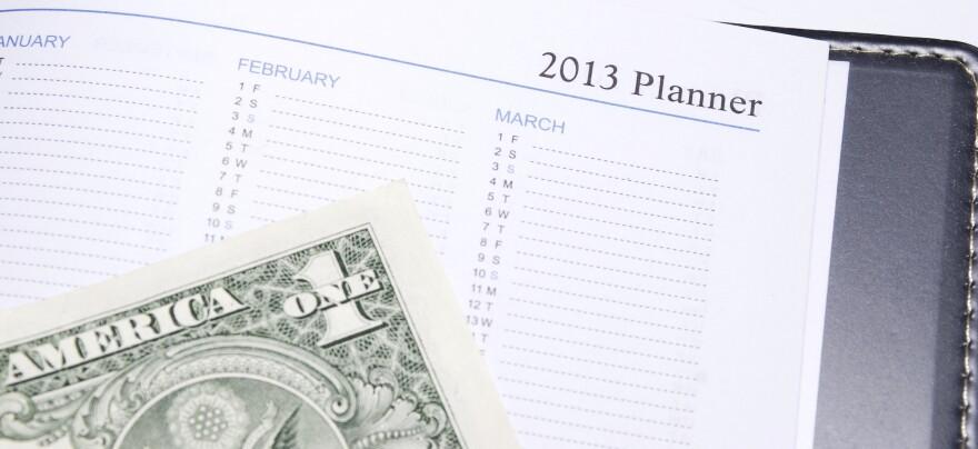 Fiscal cliff calendar