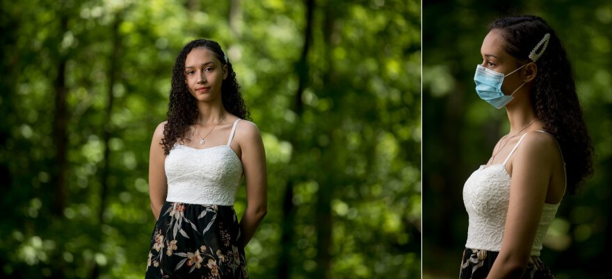 Juliana Woods, 18, Academy of Health Sciences at Prince George's Community College in Largo, Md.