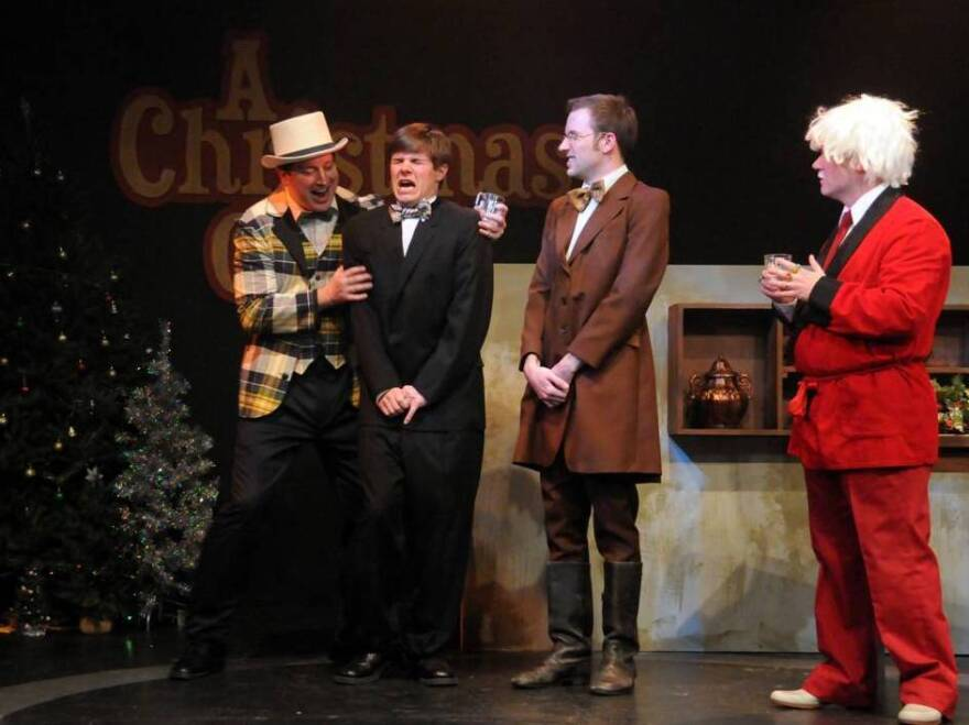 A recent staging of <em>Invasion: Christmas Carol </em>found the improv crew at Dad's Garage in Atlanta forced — by audience decree — to wedge Santa into the story of Scrooge and Tiny Tim.