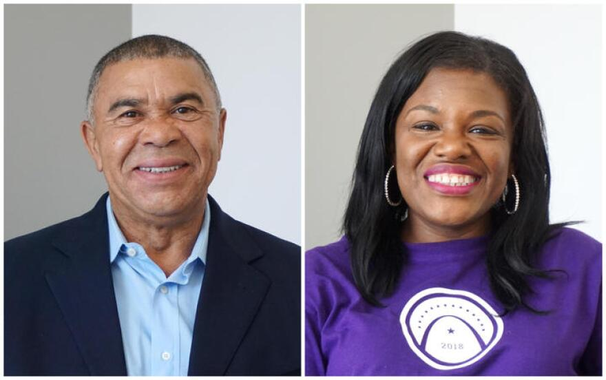 U.S. Rep. Lacy Clay and Cori Bush are the two main candidates in the Democratic primary for Missouri's 1st Congressional District.
