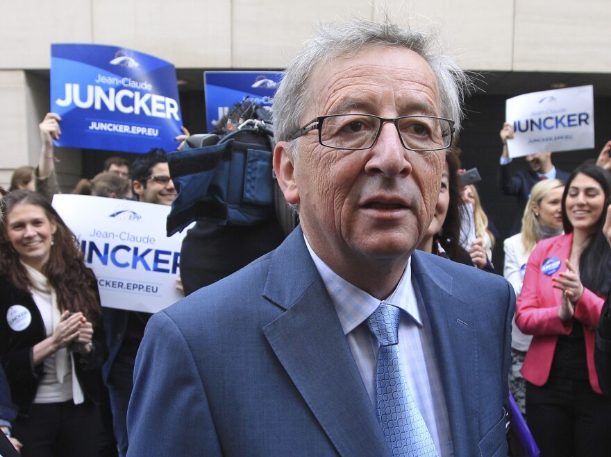 Jean-Claude Juncker, a former prime minister of Luxembourg, won the nomination to lead the European Commission by a vote of 26-2.