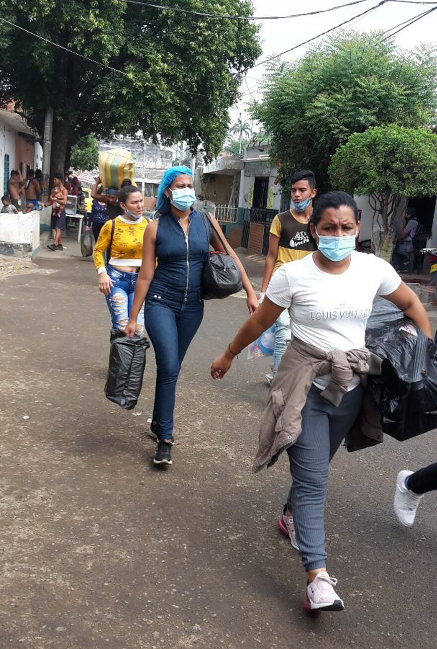 About 2 million Venezuelans have fled to Colombia since 2014, to escape food shortages, unemployment, hyperinflation and authoritarian rule. With all frontier posts now shut down, they must cross the border on lawless smuggling trails, where gangsters extort migrants, rob them and sometimes rape them.