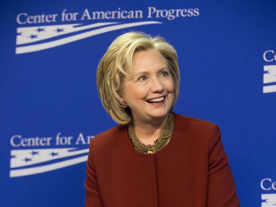Former Secretary of State Hillary Clinton is expected to announce her bid for the White House on Sunday.