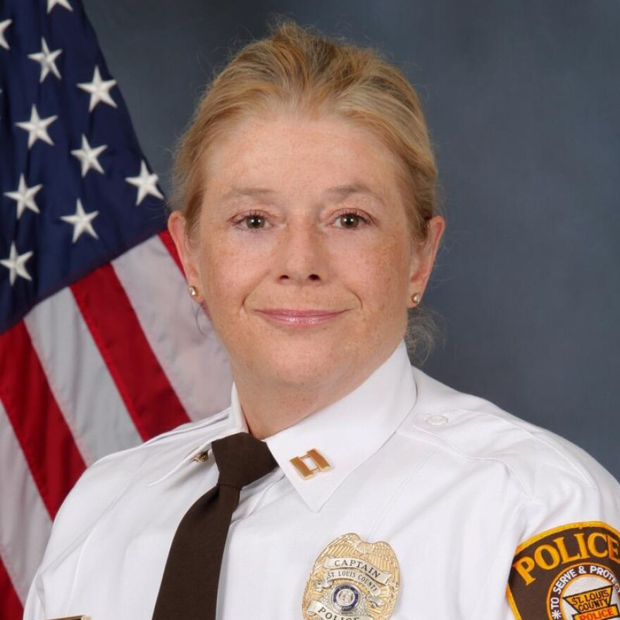 Lt. Col. Mary Barton was named St. Louis County's chief of police on March 19, 2020.