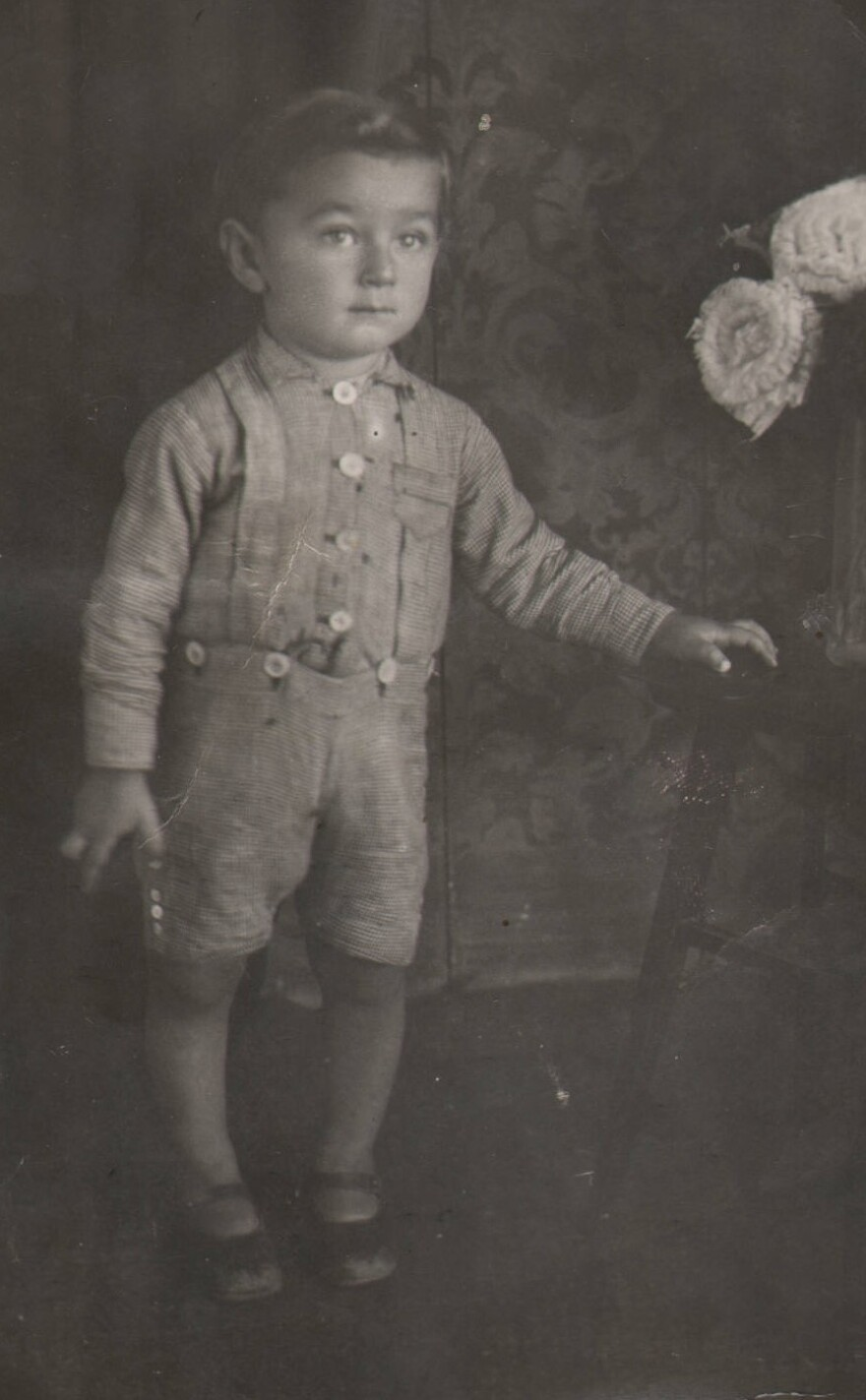 Oskar Jakob at age three in Simleu Silvaniei, Romania. Eleven years later he was seized by Nazis and would survive multiple concentration camps. 4/15/19