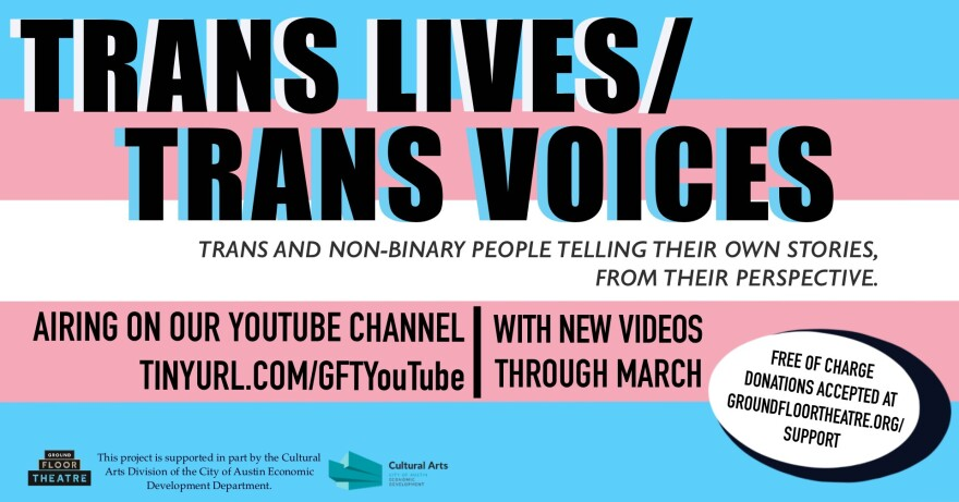 'Trans Lives/Trans Voices' at Ground Floor Theatre