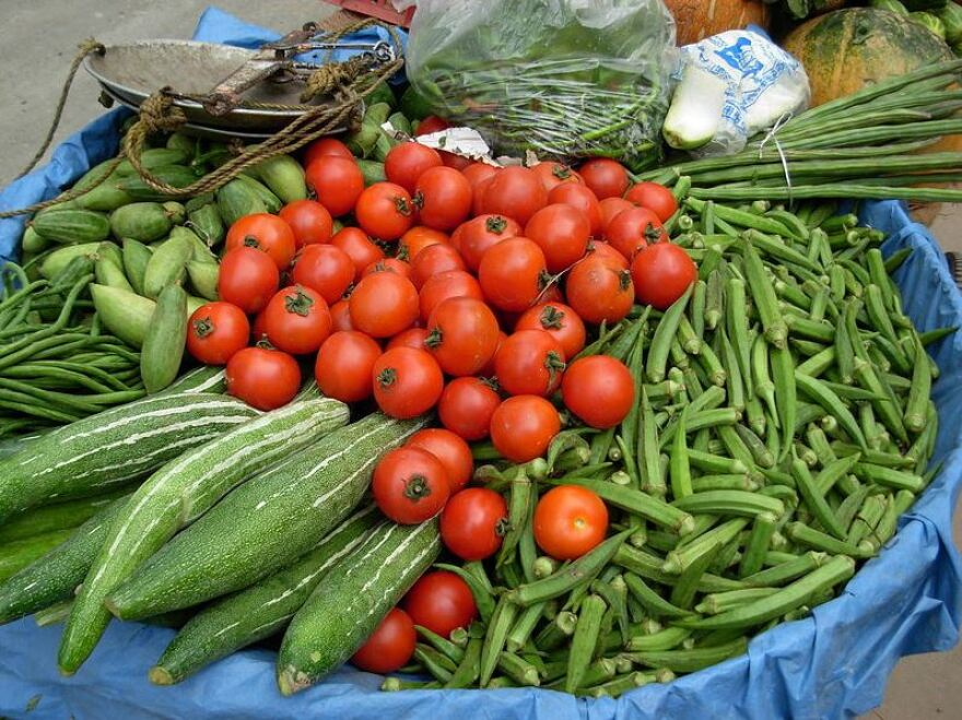 Winter vegetables.