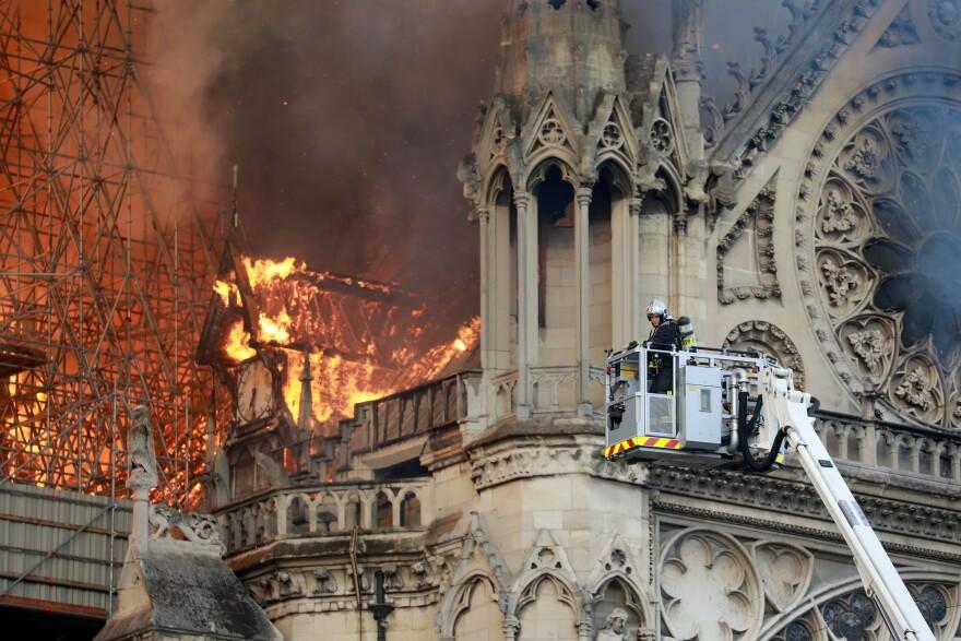 """Author Victor Hugo described the cathedral as """"a vast symphony in stone"""" in his beloved 1831 novel, <em>Notre Dame de Paris.</em>"""