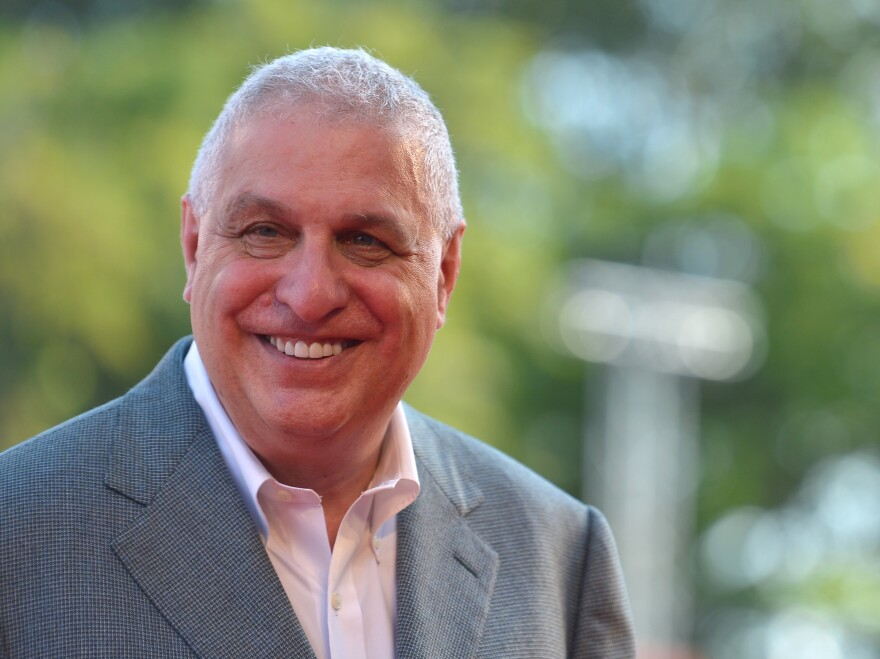 Director Errol Morris arrives for the screening of The Unknown Known at the 70th Venice Film Festival in September.