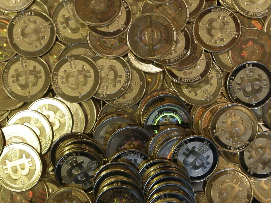 A shop in Sandy, Utah, mints physical versions of bitcoins, with codes protected by tamperproof holographic seals.