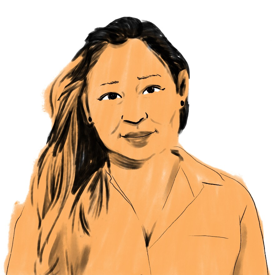"Thu Nguyen, a<strong> </strong>sixth grade teacher at Sidwell Friends School in Washington, D.C. says, ""I interact with them via face-to-face every day. And I can't respond to 33 kids in writing fast enough."""
