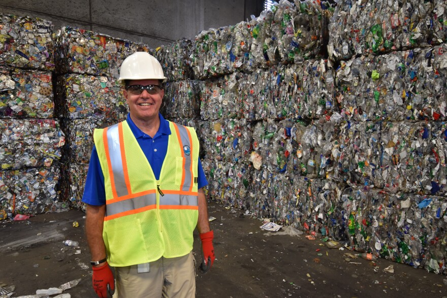 Jeff Smithberger is Mecklenburg County's director of solid waste.