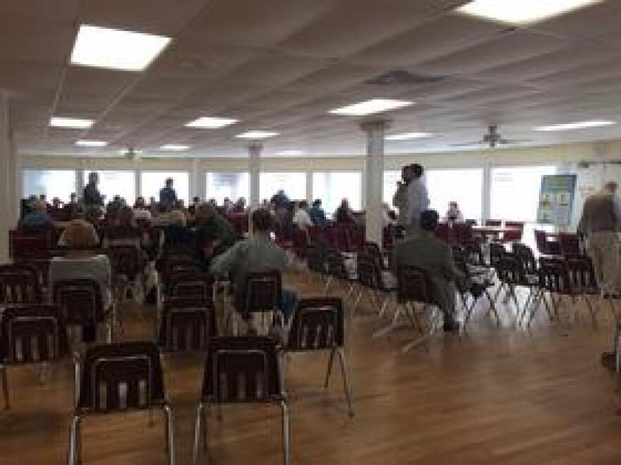 FEMA open house at Bayfront Community Center in Sarasota.