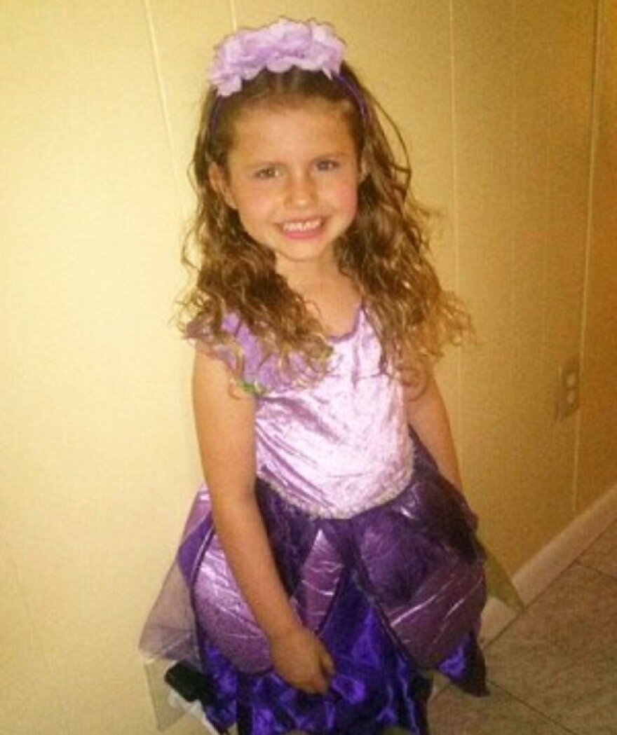 Phoebe Jonchuck, 5, was found dead last week after she was thrown off a bridge. The funeral services were recently held Wednesday at Lake Magdalene Methodist Church in Tampa.
