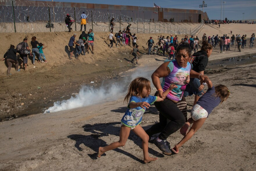 Reuters won the Pulitzer for breaking news photography for this series of images, which documented Central American migrants' desperate journey to the U.S.