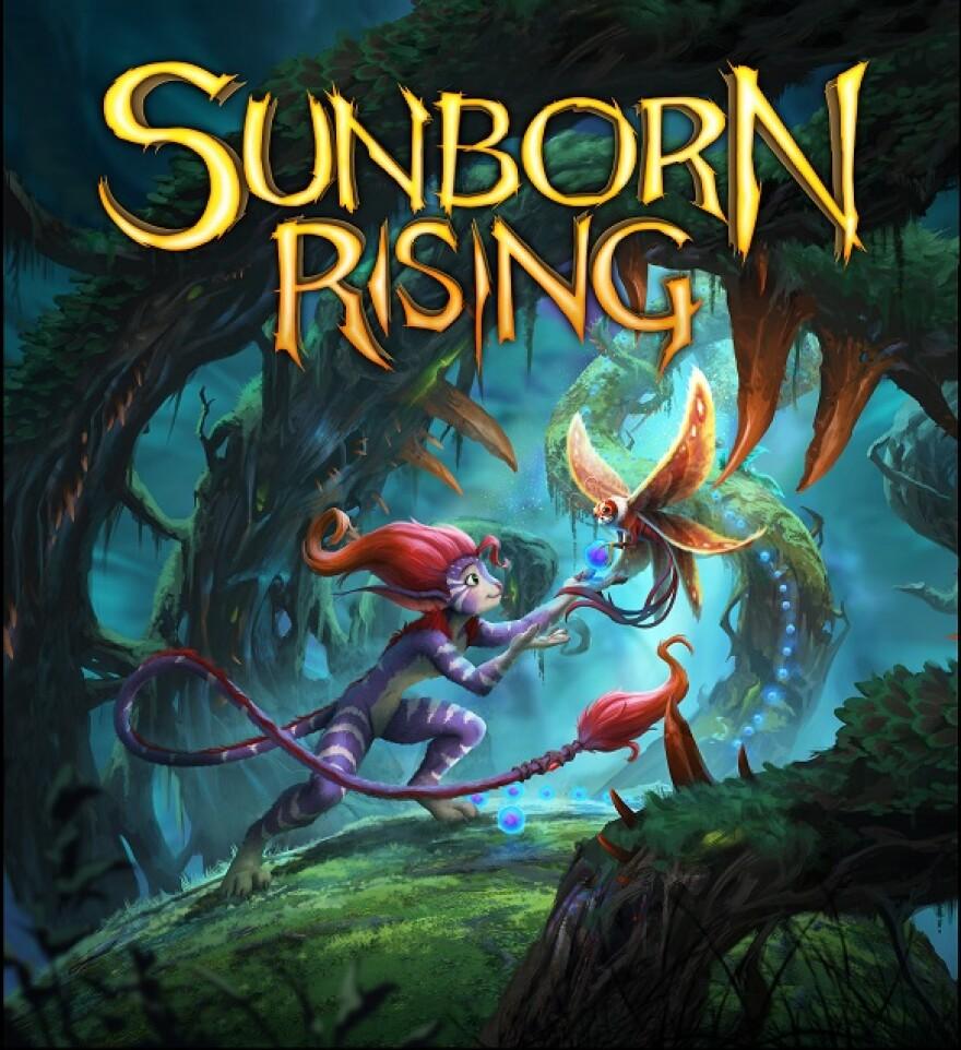 Sunborn Rising cover