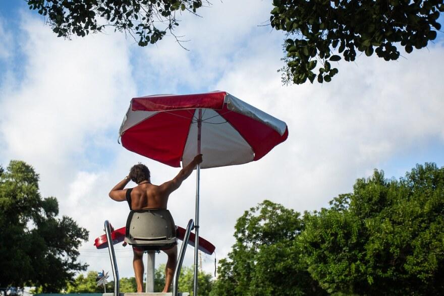 Quinlin Talyor, lifeguard