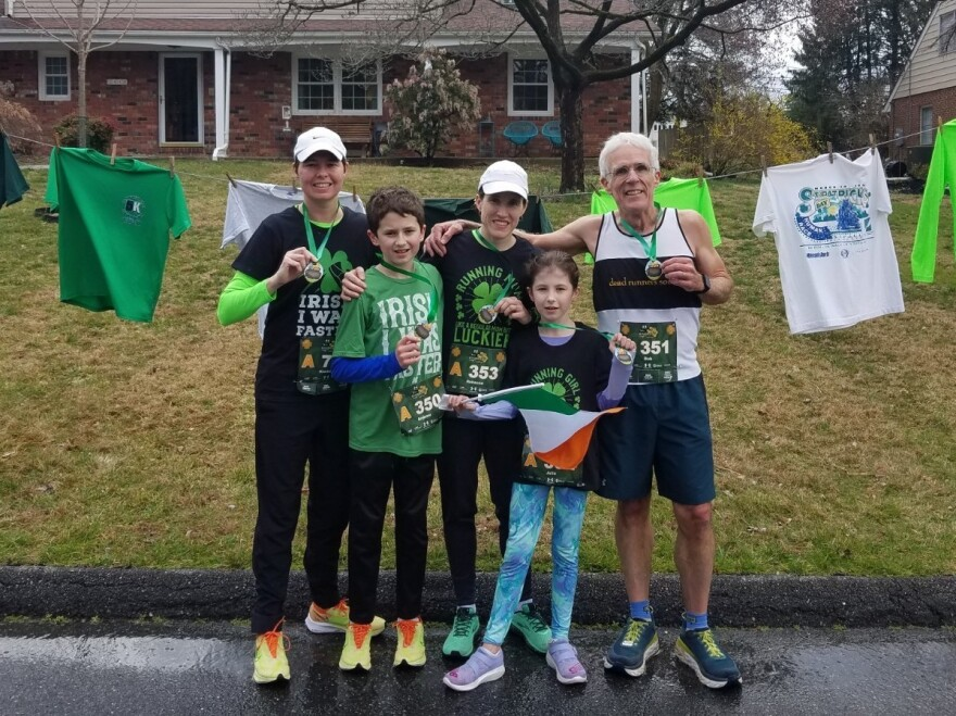 Bob Hemler created a 5K race outside his home for him and his family to run.