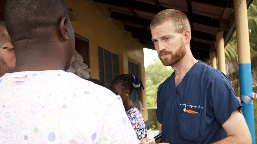 Dr. Kent Brantly was medical director at Monrovia's only Ebola treatment center when he fell ill with the disease in July. He survived after being evacuated and treated in the United States.