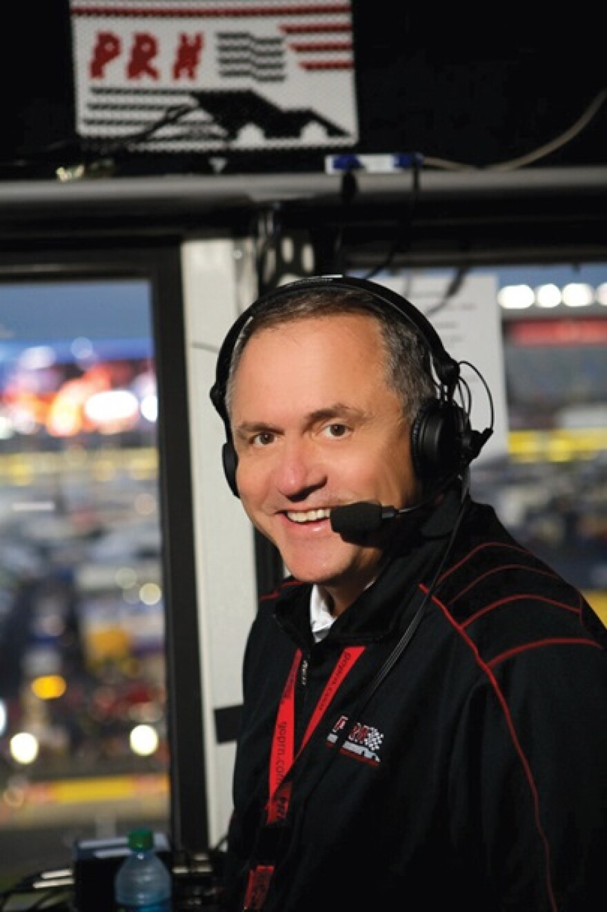 Doug Rice, president and general manager of Performance Racing Network.