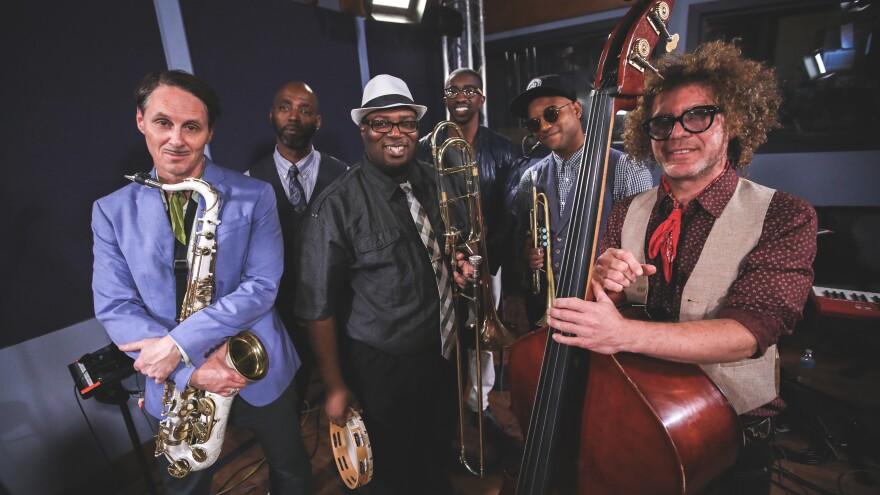 Preservation Hall Jazz Band inside the World Cafe Performance Studio