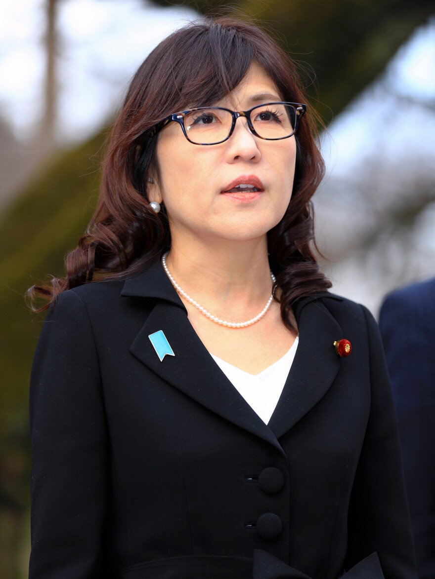 Japanese Defense Minister Tomomi Inada.