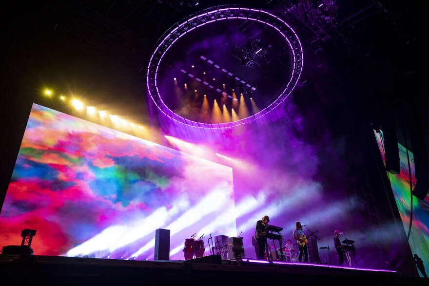 Tame Impala performs at ACL