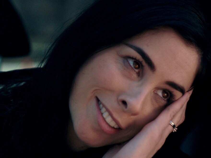 Sarah Silverman plays a profoundly depressed woman who has gone off her medication in the film <em>I Smile Back.</em>