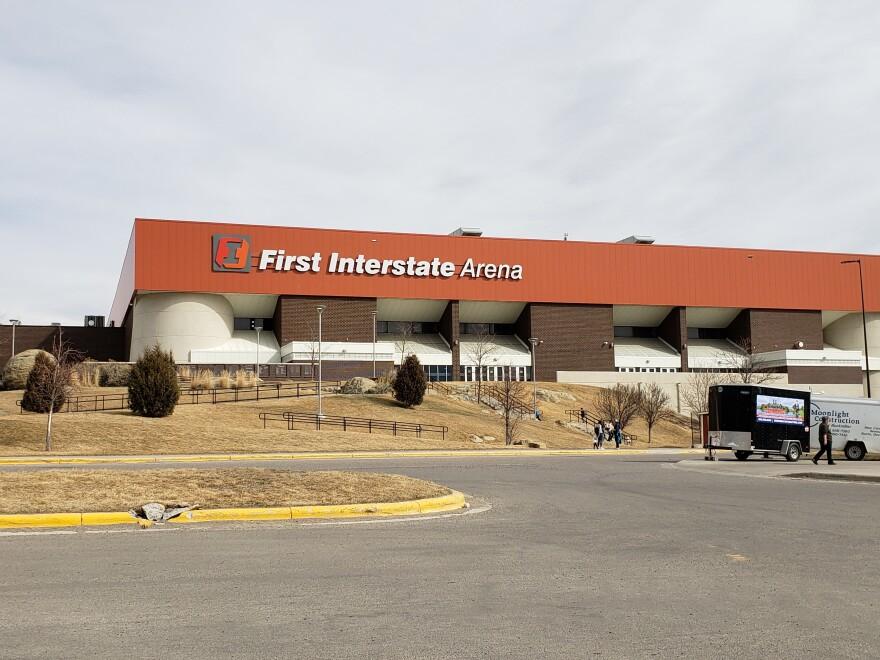 First Interstate Bank Arena at Metra Park.