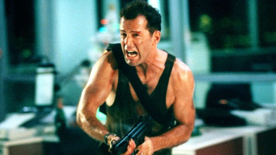 Hey, 1988's <em>Die Hard, </em>starring Bruce Willis, might not be the most conventional holiday movie, but it's a holiday movie nonetheless.