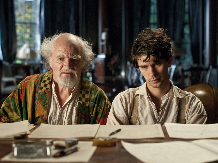 Jim Broadbent and Ben Wishaw, seen here as Ayrs and Frobisher, also play five roles each. Both put forth stellar performances.