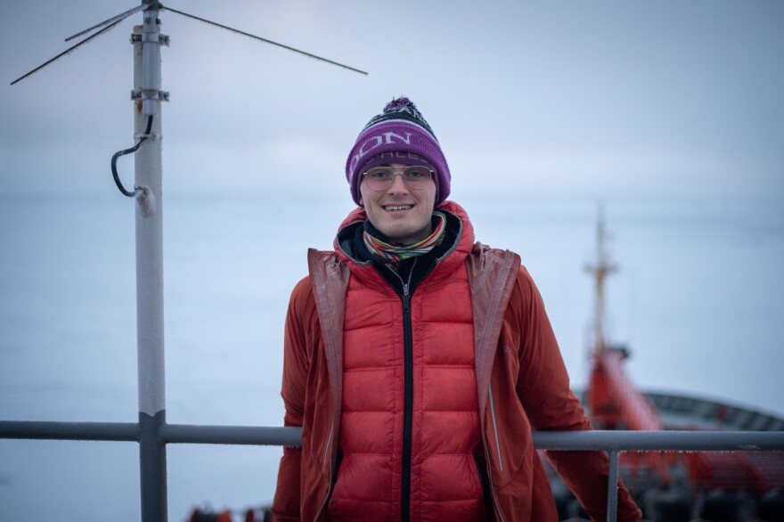 Robbie Mallett is a PhD student at University College London studying sea ice using satellites.