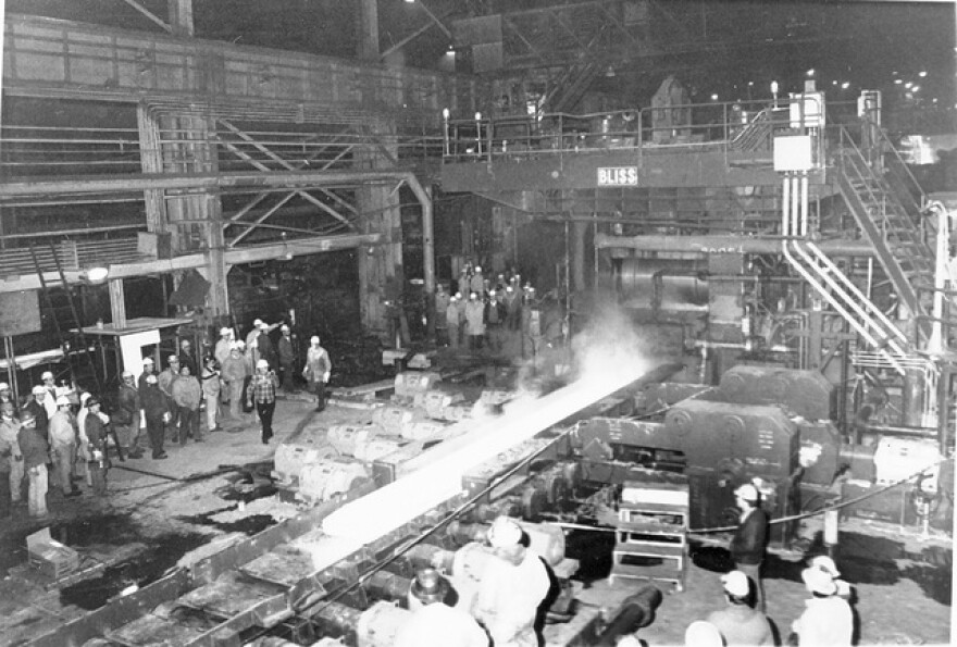 As part of the massive National Steel conglomeration, Weirton Steel became our state's largest employer and taxpayer, and the world's largest tin-plate producer.