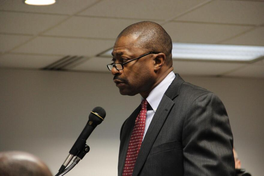 Superintendent of St. Louis Public Schools, Kelvin Adams, tells the district's Special Administrative Board (SAB) that the district should renovate and keep open Shenandoah and Mann Elementary School.