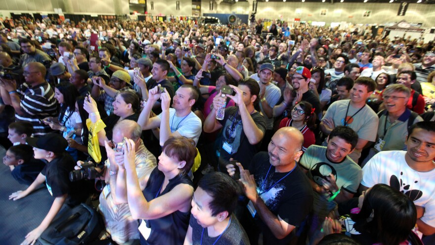 Last year's Comikaze, seen here in September 2012, attracted tens of thousands of attendees.