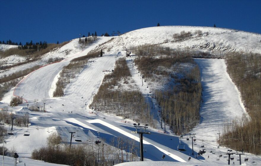 A photo of Eagle Race Arena at Park City Mountain Resort.