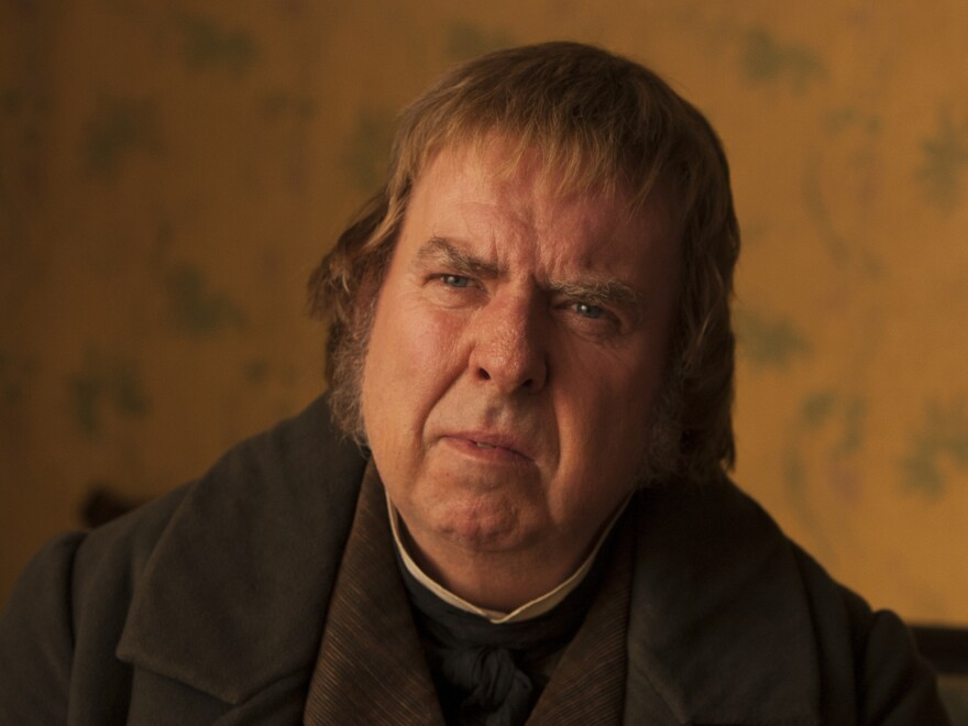 """Timothy Spall says he had to use a lot of empathy to play a character like Mr. Turner, who wasn't always """"very pleasant"""" and was a """"man of massive contradictions."""""""