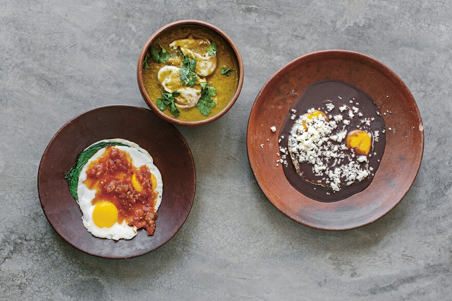"""Enrique Olvera's flagship eatery, Pujol, has repeatedly made lists of the best restaurants in the world. """"The inspiration in our restaurant is home cooking and simple cooking,"""" he says. """"We've always been very connected to that. Whenever we want to travel for inspiration, we go to small towns in Mexico and visit people's homes."""""""