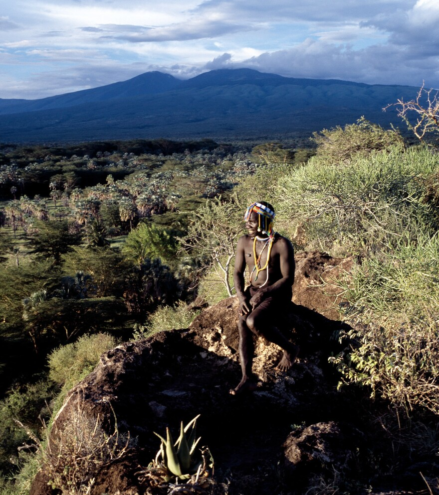 A Hadza hunter in Tanzania. Researchers have looked at the hunting success of the Hadza and found that they bagged an animal on 3.4 percent of their excursions.